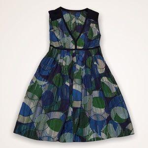 🆕 A|X ARMANI EXCHANGE Silk Geo Print Dress